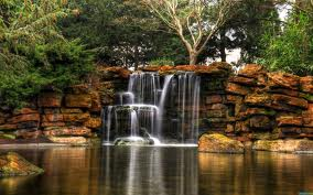 искусственный водопад