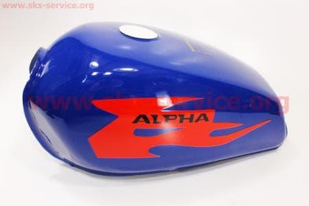Бак топливный СИНИЙ для мопедов ALPHA (Viper) купить в Украине