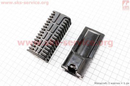 Резинка подножки для ног передняя к-кт 2шт для мопедов SPORT50 MX50V(Suzuki) (Viper) купить в Украине
