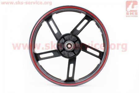 Диск задний литой 1,85-18 лучи, черный (ось 15мм) для мотоцикла VIPER V150A (STREET) купить в Украине
