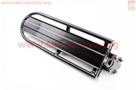 Багажник 24 - 26 алюминий консольный, крепл. за трубу сидения, черный для велосипедов
