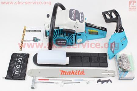 Бензопила Makita 52cc (3,6кВт, шина 18), с подкачкой, плавный пуск, отличное качество