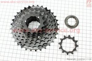 Кассета 8зв. 32,28,24,21,18,16,14,12Т, черная ACERA CS-HG200 для велосипеда