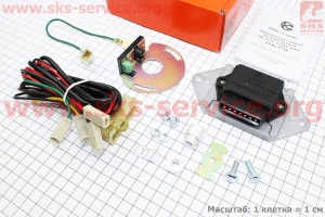 БСЗ/микропроцессорная система зажигания 1146.3734 6-12V на мотоцикл ЯВА