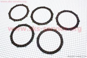 Диски сцепления фрикционный 4,3мм к-кт 5шт 12V на мотоцикл ЯВА