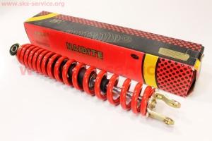 Амортизатор задний 310мм (цвет - красный) на скутера разных моделей (Китай, импорт)