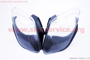 Viper - Tornado пластик - стекло фары передней левой, правой к-кт на скутера разных моделей (Китай, импорт) ???????