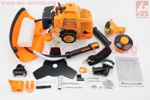 Триммер (мотокоса) Power Craft BK5940n - 4,0кВт (леска+нож 3Т)  к ТРИММЕРАМ (мотокосам) ???????