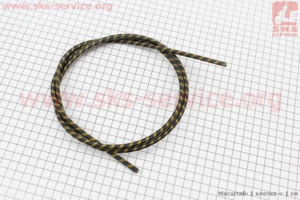 Вал приводной (трос) ?6мм 4Tх4T -квадрат 5х5мм L=1440мм, FS-44/55 для мотокос