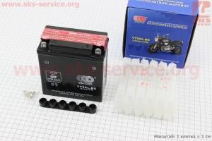 Аккумулятор 5Аh YT5AL-BS (кислотный, сухой) Active 120/60/130мм, 2018