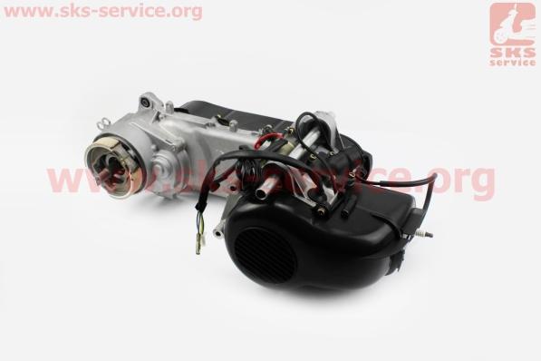 Двигатель скутерный в сборе 2Т (ременной) Yamaha-Storm50