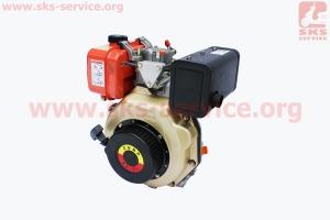 Двигатель мотоблочный в сборе под шлиц ?25мм 6 л.с. 178F (HT-105) ZUBR