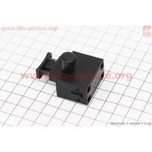 Кнопка-выключатель с фиксатором Тип №2 для электропил