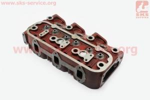 Головка блока цилиндра (KM385QB-03101) на дизельный двигатель KM385BT