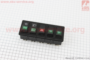 Блок переключателей в сборе DongFeng 244E к минитракторам DongFeng 240-404