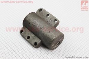 Блок цилиндра гидравлического в сборе (старого образца) Xingtai 120 (14.55.319) к минитракторам Xingtai 120-224