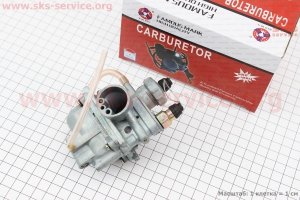 Карбюратор в сборе на двигатель TB50,65сс 2-T цепной вариатор (скутер)