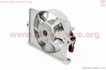 Вентилятор в сборе R175A/R180NM (со статором)  З/ч на двигатель  дизельный R-175N/180N/  - 7/9 л.с.