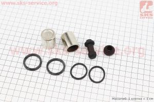 Поршень тормозного суппорта к-кт 2шт + манжеты для мопеда SPORT50 MX50V(Suzuki) (Viper)