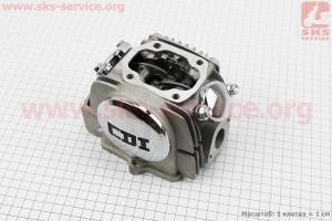 Головка цилиндра в сборе Yinxiang YX125 (CB-125cc) полный к-кт для ПИТБАЙКА - PIT BIKE Viper V125P (ENDURO)