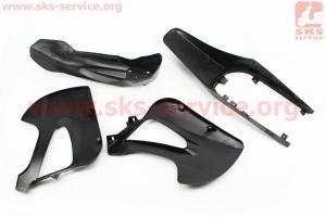 пластик - ВЕСЬ к-кт деталей - 6ед. ЧЕРНЫЙ для ПИТБАЙКА - PIT BIKE Viper V125P (ENDURO)
