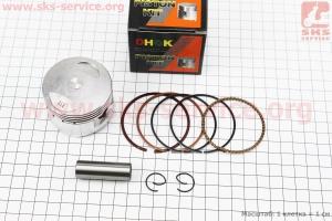Поршень, палец, кольца к-кт 125сс 54мм +0,25 (палец 14мм) для ПИТБАЙКА - PIT BIKE Viper V125P (ENDURO)