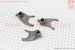 Вилка переключения передач к-кт 3шт для мотоцикла VIPER-125-J (двигатель СВ-125сс-200сс)
