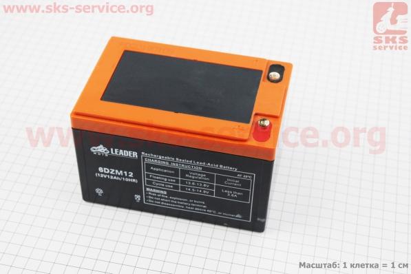 Аккумулятор 6DZM12 - 12V12Ah (L150*W100*H100mm) для ИБП, игрушек и др., 2019 (завод OUTDO)