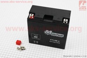 Аккумулятор 14Аh YT14B-4 (YT14В-BS) гелевый (L150*W70*H145 mm), 2018
