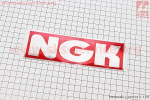 Наклейка NGK 17,5х5,5