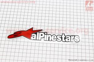 Наклейка Alpinestar 195х50мм