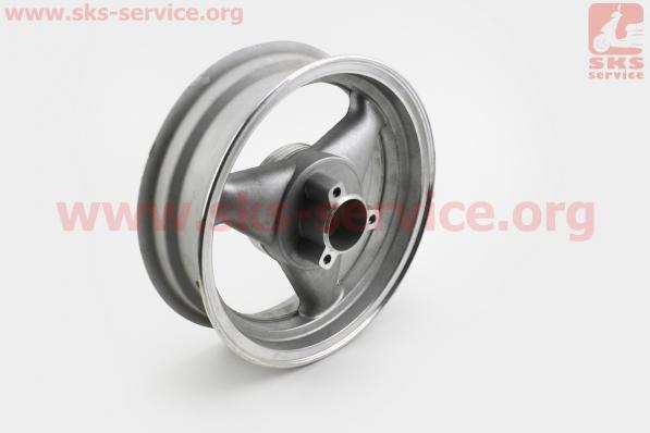 D21 Диск литой задний (диск. торм.)  MT3,50x12, УЦЕНКА (см. фото) для китайских скутеров