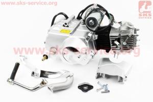 Двигатель мопедный в сборе 70куб (Delta) - механика