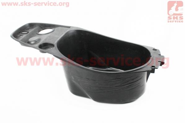 пластик - багажник основной под сиденьем УНИТАЗ для 125сс, тип 2 для скутеров GRAND PRIX (Viper)