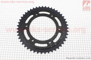 Loncin- LX250GY-3 Звезда задняя 520H-47Т, черная для мотоциклов разных моделей (Китай, импорт)