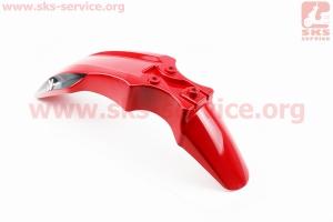 Viper - V200R пластик - крыло переднее, КРАСНЫЙ для мотоциклов разных моделей (Китай, импорт)