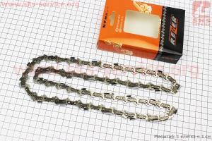 Цепь 3/8-1,3mm-56зв. квад. зуб (на Partner-16), упаковка REZER, отличное качество