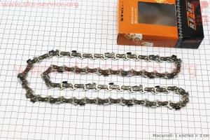 Цепь 3/8-1,3mm-57зв. квад. зуб (на Partner-16), упаковка REZER, отличное качество