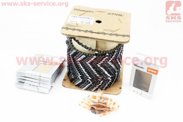 Цепь (бухта) 325-1,5mm-1840зв. квад. зуб RS, упаковка STIHL, отличное качество