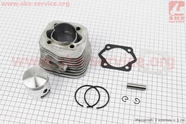 Цилиндр к-кт (цпг) 80сс-47мм Дырчик, УЦЕНКА (см. фото) для веломотора