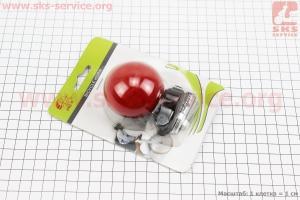 Звонок электронный, красный JY-575С для велосипедов