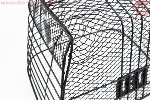 """Корзина багажная передняя 28"""", черная JL-CK055 УЦЕНКА, (дефект на дне) для велосипедов"""