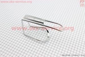 Флягодержатель алюминиевый, крепл. на раму для велосипедов