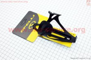 Флягодержатель алюминиевый, крепл. на раму, черный SBC-192A для велосипедов