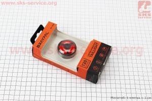 Фонарь задний 120 lumen алюминиевый, Li-ion 3.7V 500mAh зарядка от USB, влагозащитный, RPL-2288 для велосипедов