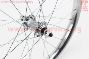 """Колесо 18"""" переднее, втулка 14Gx28H в сборе для велосипеда"""