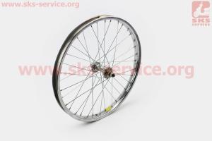 Колесо 20 переднее, втулка 14Gx36H в сборе для велосипеда