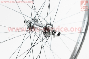 """Колесо 28"""" переднее, втулка """"Украина"""" 14Gх36Н в сборе для велосипеда"""