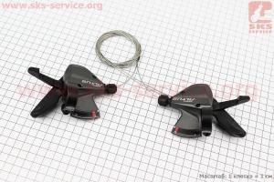 Переключатель манетка левый (3ск)+правый (9ск) к-кт, ALTUS SL-M370 для велосипеда