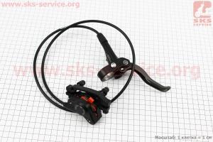 Тормоз дисковый гидравлический передний, черный BR-MT400 + BL-MT400 для велосипеда